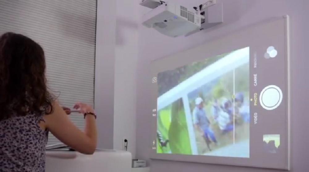 vidéoprojecteur interactif mobile